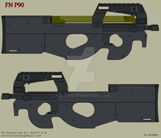 FN P90 TR by Wolff60