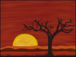 Sunset Quick Paint by juggsy