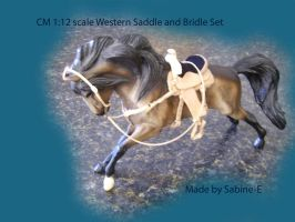 1st CM Breyer Saddle by Sabine-E