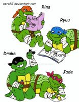 TMNT: Turtle Tots by xero87