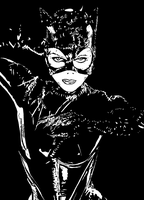 Catwoman by ladyjart