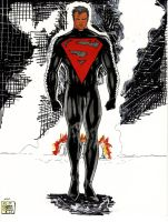New Costume Superman by grimmcj