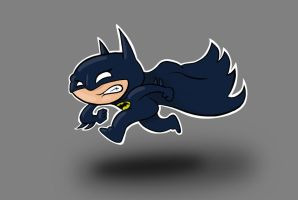 Lil Batman by huskertim27