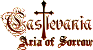 Castlevania Aria of Sorrow - Logo by TheOriginalGinger