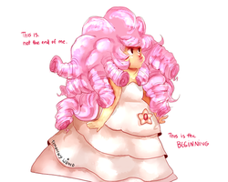 Rose Quartz Baby by temporaryWizard