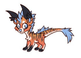 .: Ozark Dragon Pup Auction CLOSED :. by Spunky-Mutt