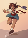 Fan Art: Indivisible, Ajna by Pehesse