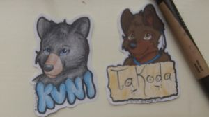 More Badges! by Silverfang98