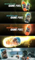 Moundain Dew Game Fuel Ad by M1LLAH