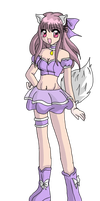Mew Pearl Outfit Re-Design Colored by Eleanor-Devil