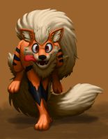 Arcanine (re-rendered) by RedusTheRiotAct