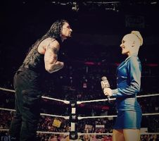 Roman Reigns and Lana |Manip| by 2009abc