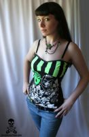 Demented Are Go Corset by smarmy-clothes