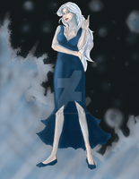 Queen Mab, Monarch of the Winter Court. by KnightOfWater
