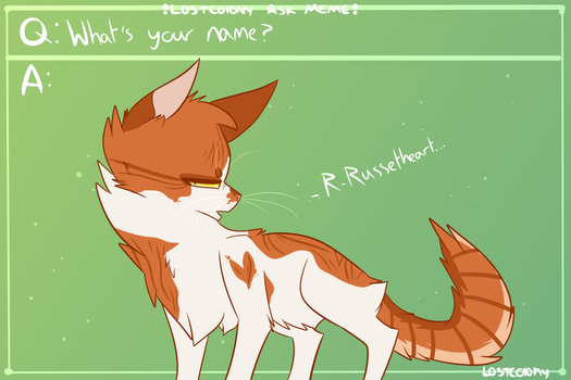 Ask Russetheart -- 1 by Splair