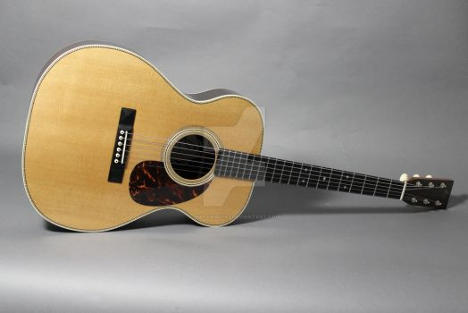 'King' 1929 OM-28 style by Guitarguy42