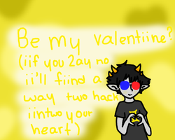 Sollux valentine by cloudkit25