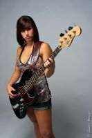 Fender Girl 02 by Uplinkbob