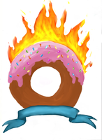Burn the donut by Dauntless-Girl