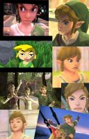 Link Faces Collage by Rinni-Boo