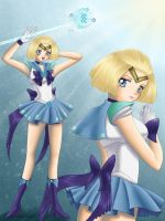 Sailor Aquarius by ChildOfMoonlight