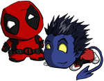 ChibiPool and ChibiCrawler by Skeletonny