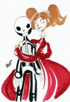Timed Ink: Skeleton Song by KennedyxxJames