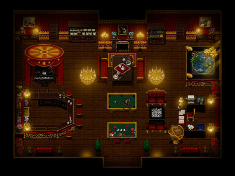 MIRIAM: Mapping: Miller's Apartment - Living Room by nelly2793