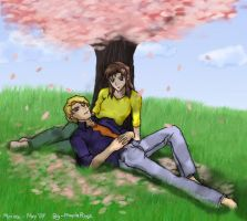 Gundam SEED: Relaxing by Mirinee