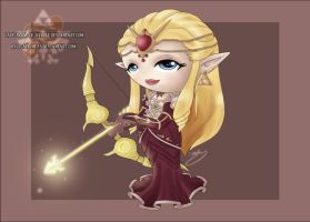 Chibi Queen Zelda by Lady-Zelda-of-Hyrule