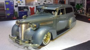 repost 1939 Chevrolet Sedan Delivery by themodelist