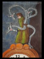 Doctor Octopus Tapestry by SilverGryphon8