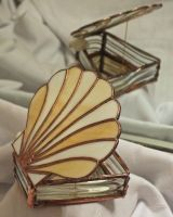Stained Glass Trinket Box by lenslady