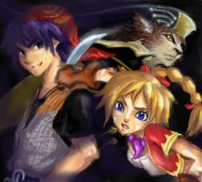 Chrono Cross Fan Art by Alphelia