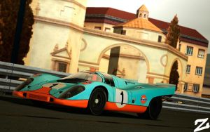 Porsche 917 at Montjuic 3 by ZowLe