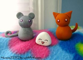 Fruits Basket figures by HamieZ23