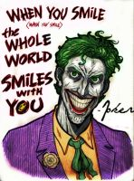 When you Smile by jokercrazy