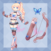 Butterfly Archer Adopt: Closed by RaineSeryn