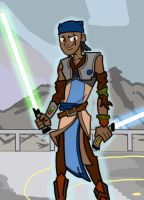 Myself as a Jedi by ZachBobBob