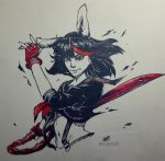 Rabbit Ryuko by PawsShiEng