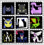Pokemonster Hunter Icons (arvalis style) Part 2 by FalconBaz