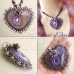 Heart of Jeni Necklace by popnicute