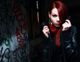 Red Darkness by OldSourPuss