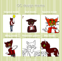 Introduction Of Fursona Via poorly Done Meme by HollowThinker