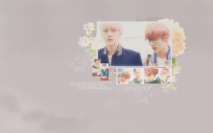 HunHan-wallpaper by KpopGurl