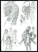 Sketch Compilation by Peter-Ortiz