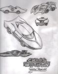 Speed Racer Cars by blackzero04