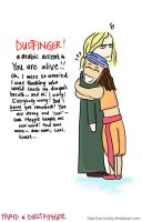 Farid and Dustfinger by shortdesigns-x