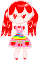 Cute Fruity-Chan by Bashful-Bubbles