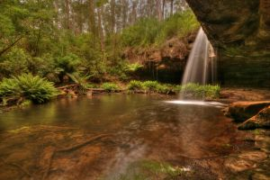 Lower Kalimna Falls HDR by DanielleMiner